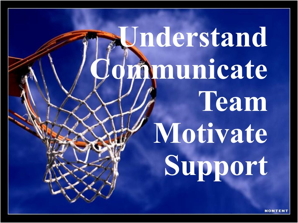 Understand Communicate Team Motivate Support