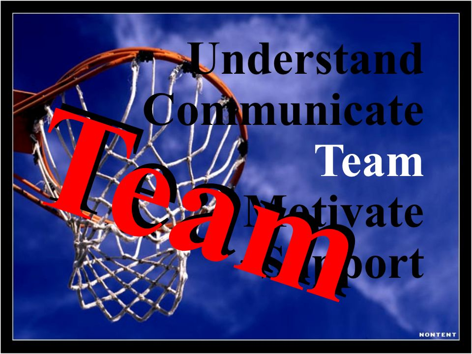 Understand Communicate Team Motivate Support Team Team