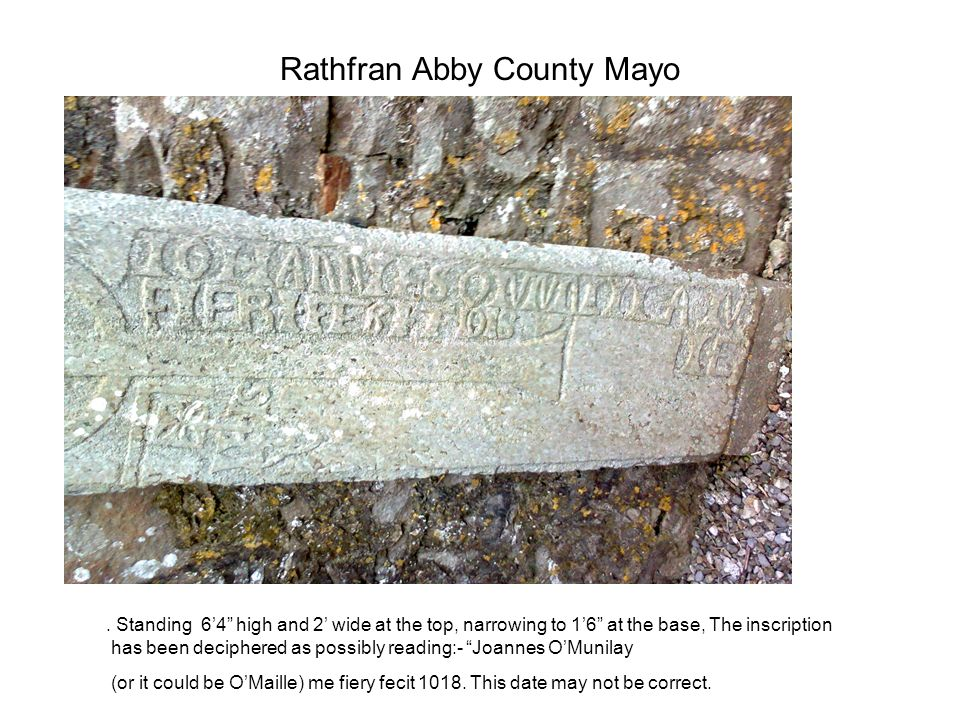 Rathfran Abby County Mayo