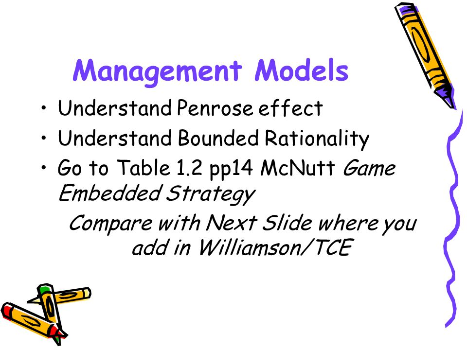 Compare with Next Slide where you add in Williamson/TCE
