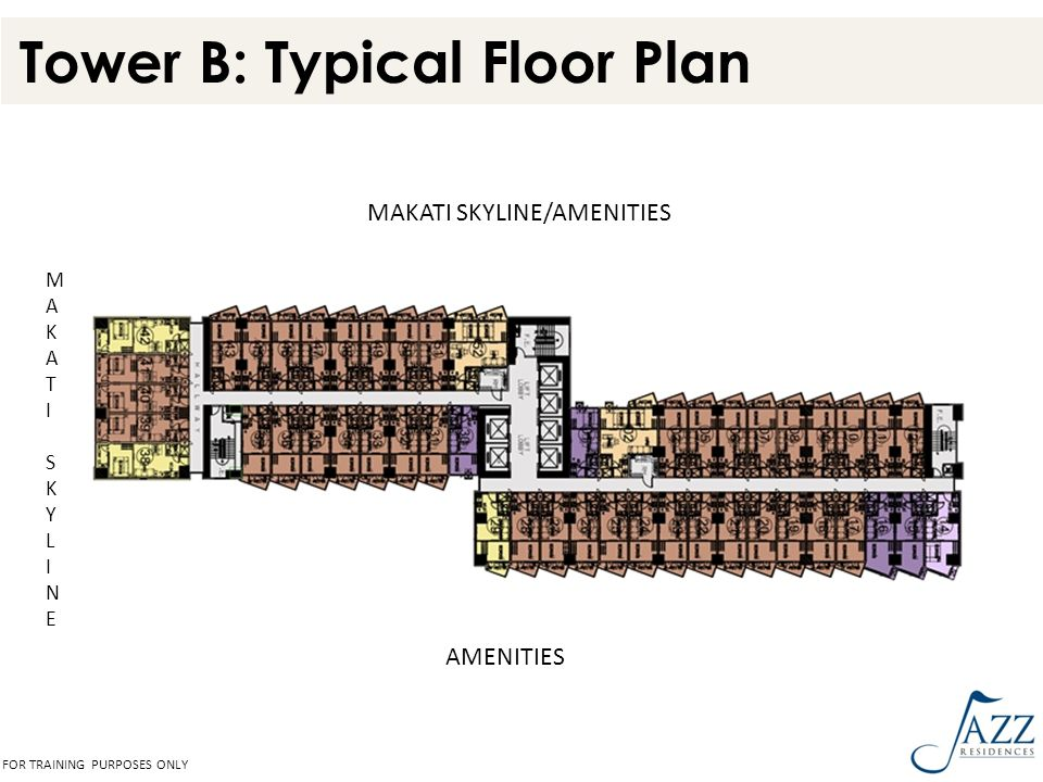 Tower B: Typical Floor Plan