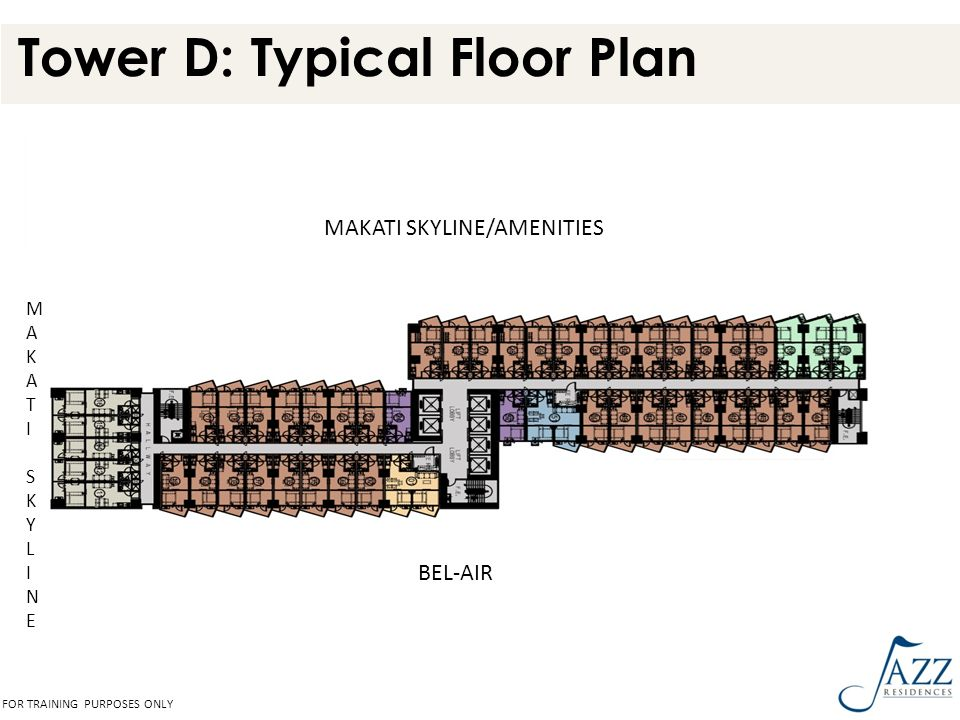Tower D: Typical Floor Plan