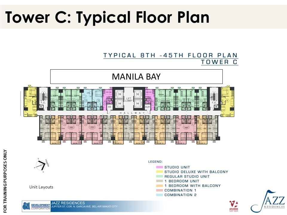 Tower C: Typical Floor Plan