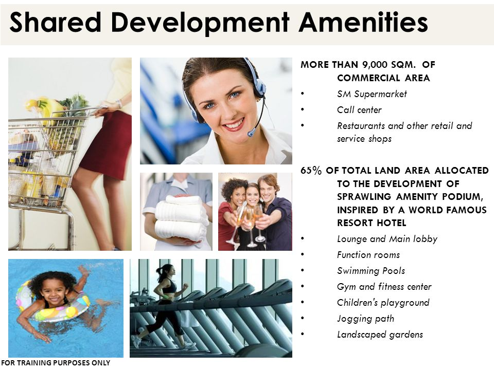 Shared Development Amenities