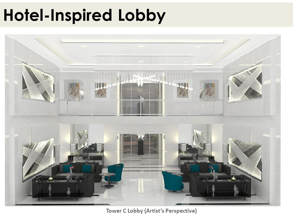 Tower C Lobby (Artist's Perspective)