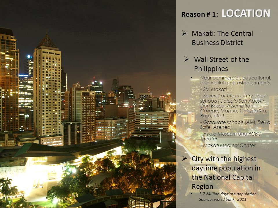 Makati: The Central Business District
