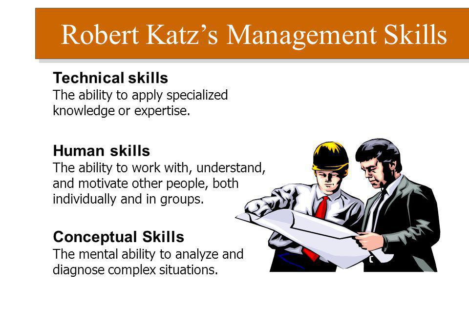 Robert Katz's Management Skills