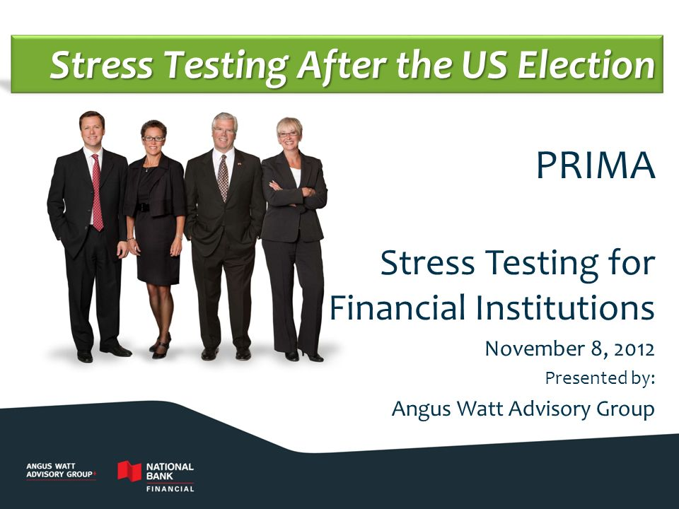 Stress Testing After the US Election