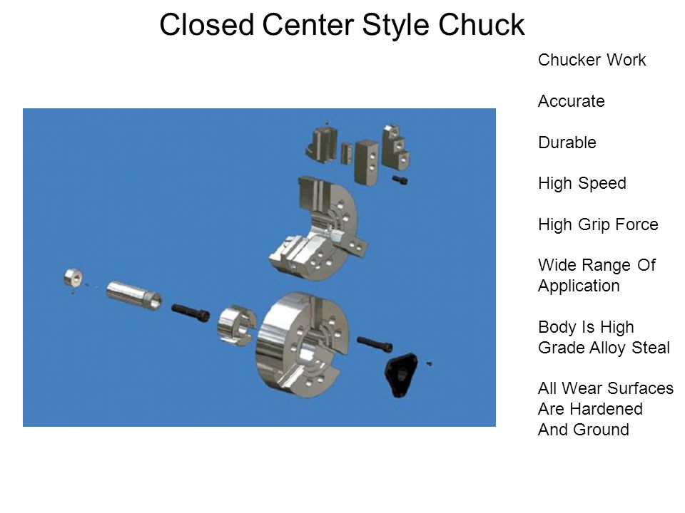 Closed Center Style Chuck