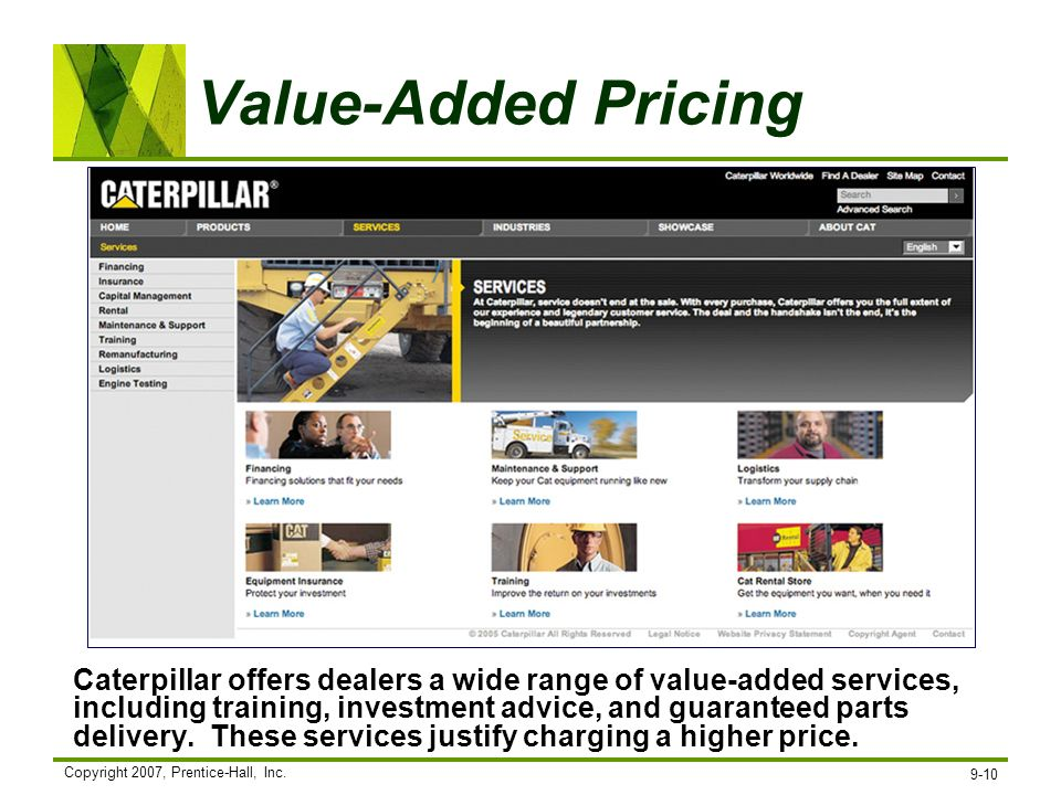 Value-Added Pricing