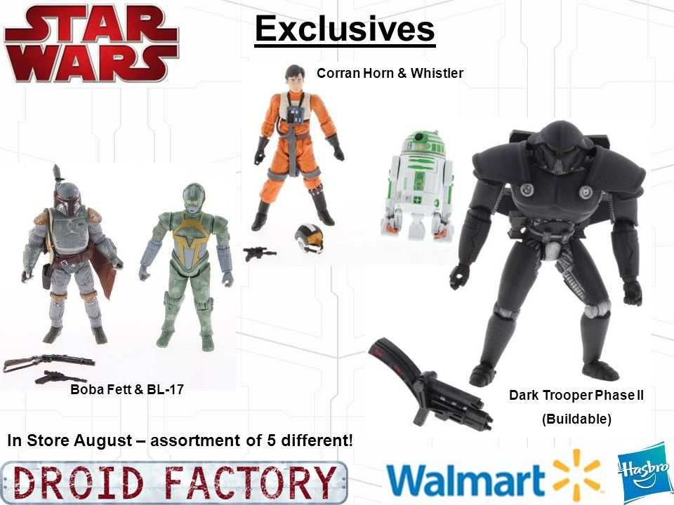 Exclusives In Store August – assortment of 5 different!