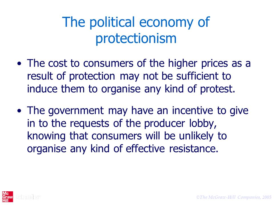 The political economy of protectionism