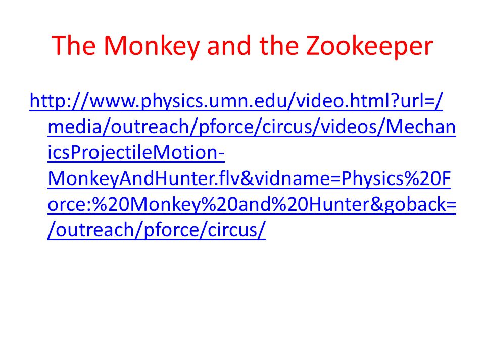 The Monkey and the Zookeeper