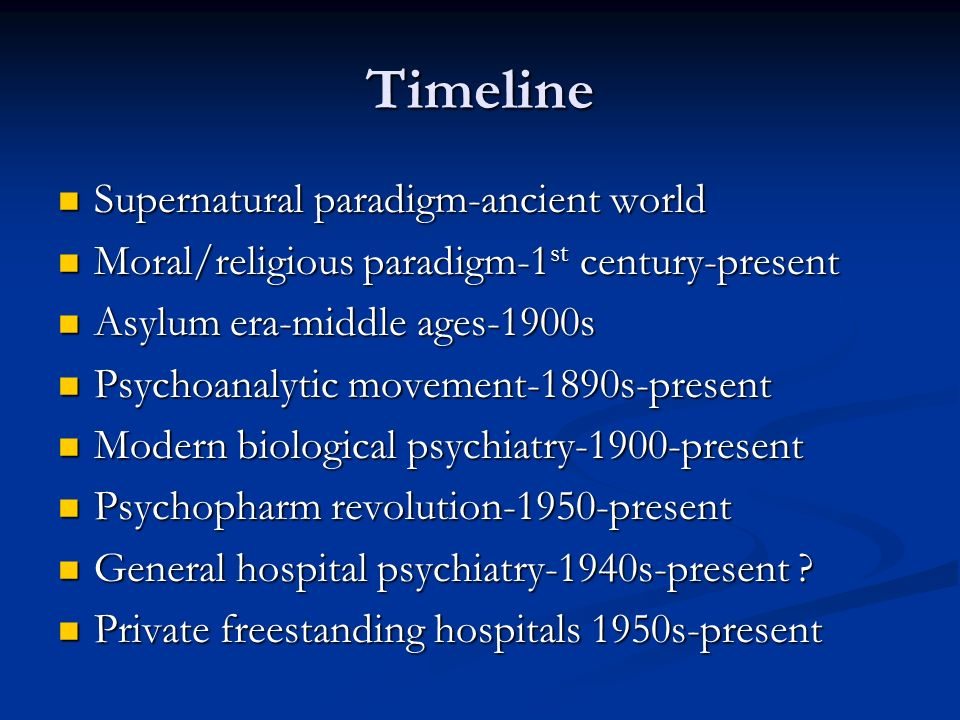 Timeline Supernatural paradigm-ancient world