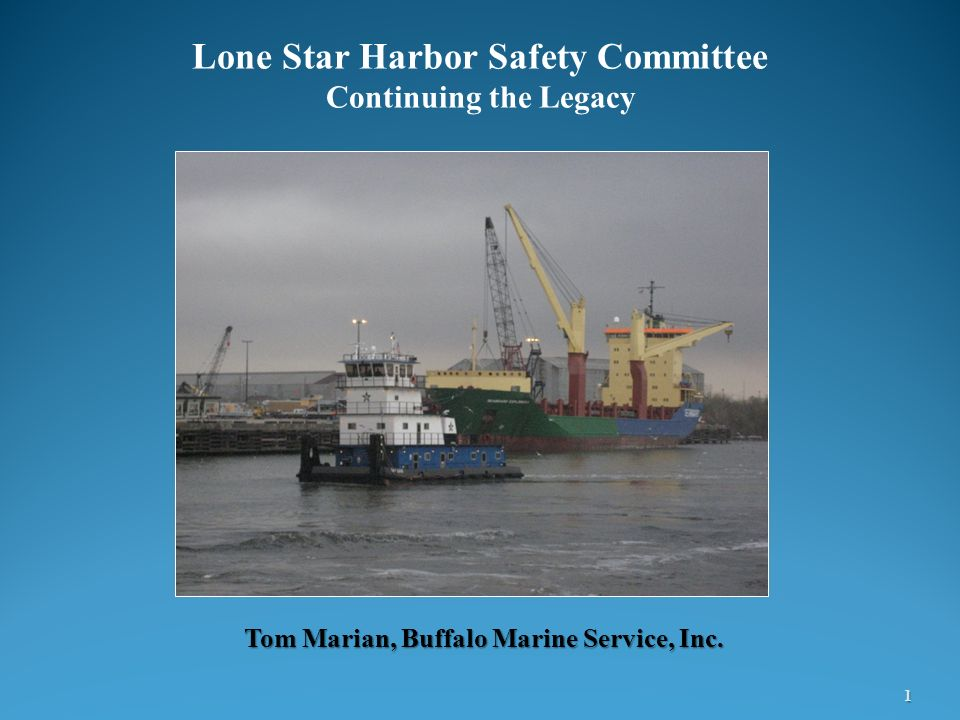 Tom Marian, Buffalo Marine Service, Inc.