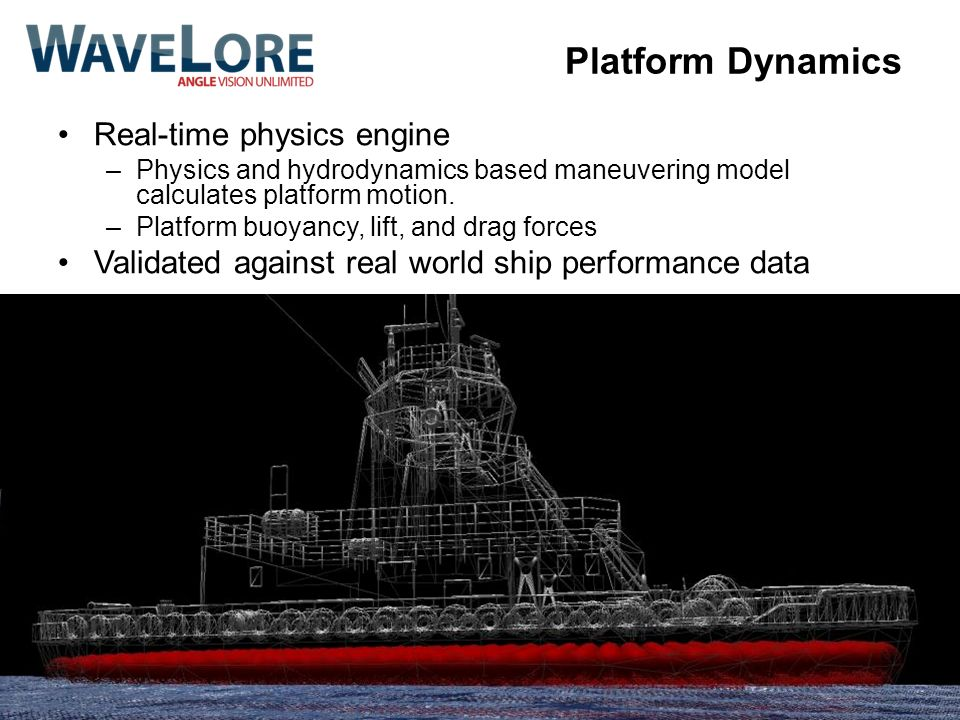 Platform Dynamics Real-time physics engine