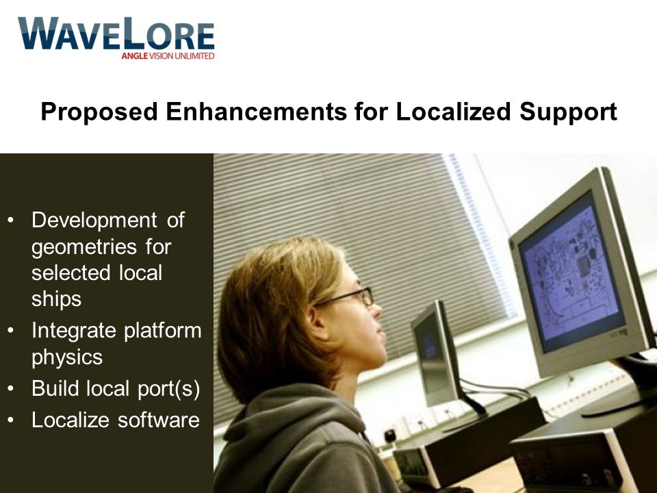 Proposed Enhancements for Localized Support