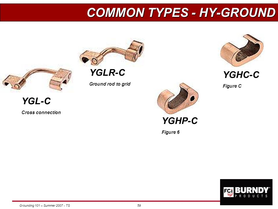 COMMON TYPES - HY-GROUND