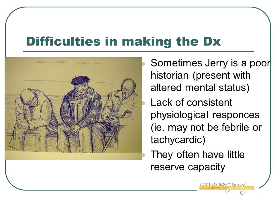Difficulties in making the Dx