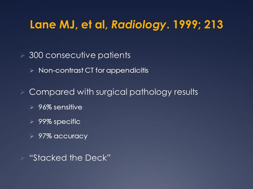 Lane MJ, et al, Radiology. 1999; 213