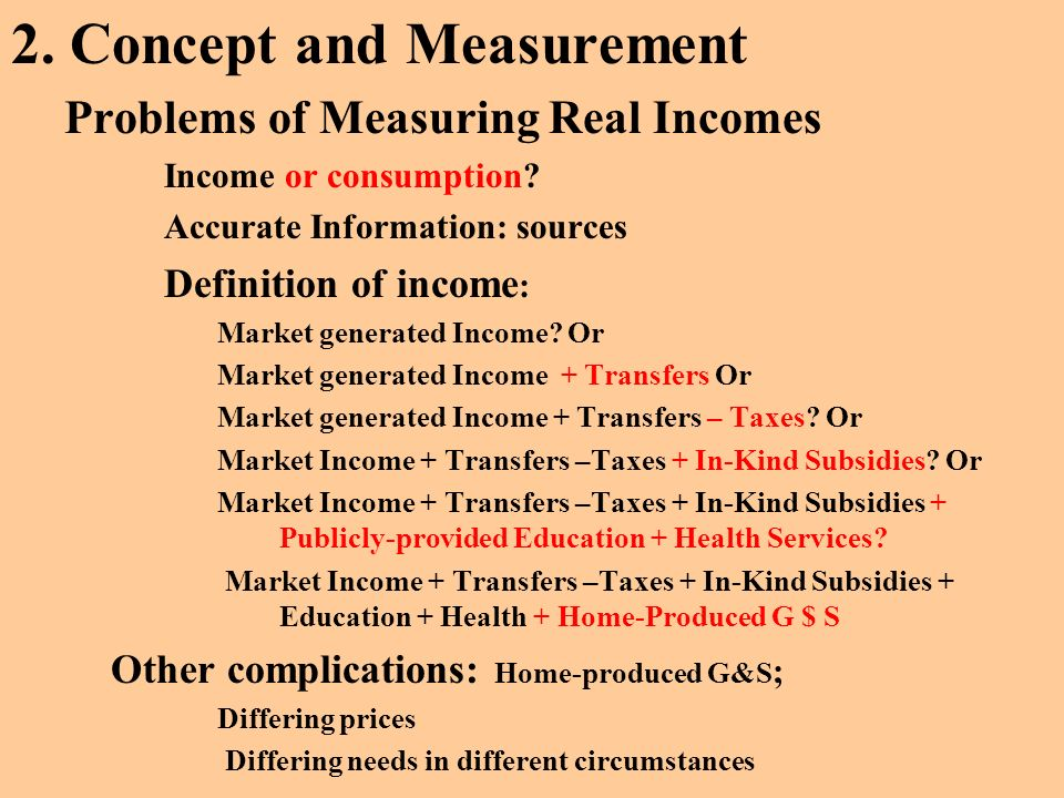 2. Concept and Measurement