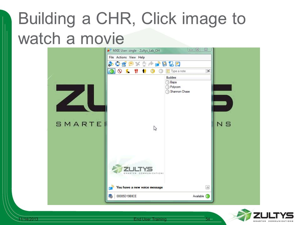 Building a CHR, Click image to watch a movie
