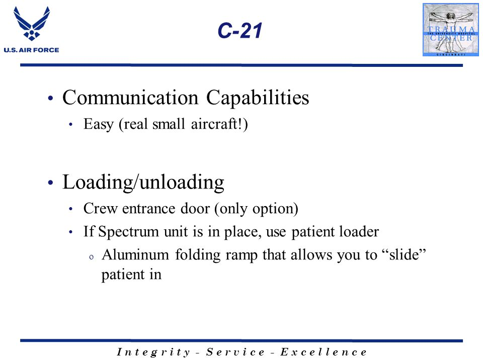 Communication Capabilities