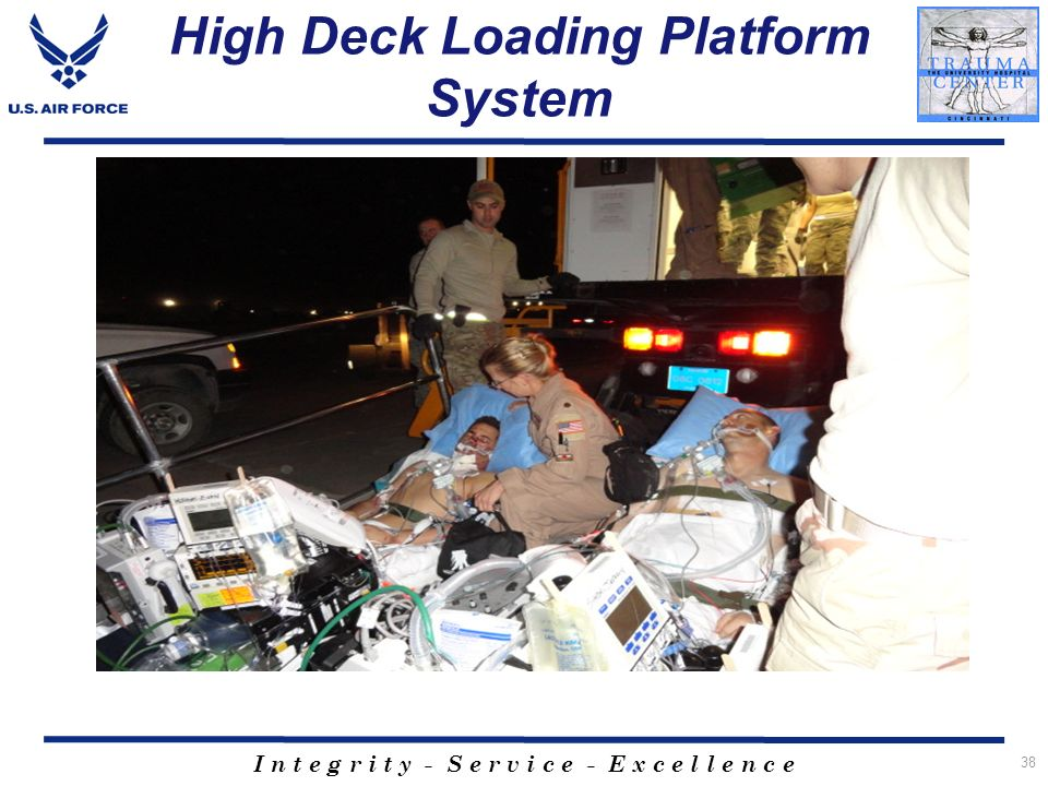 High Deck Loading Platform System