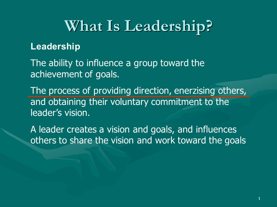 What Is Leadership Leadership