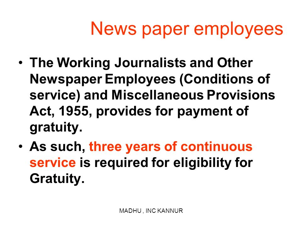 News paper employees