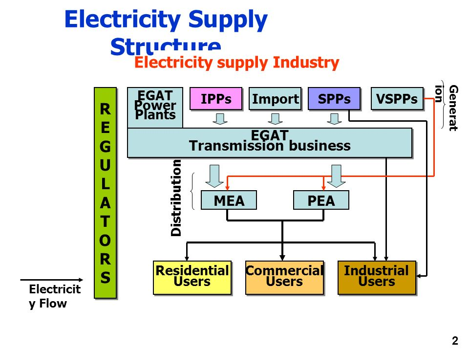 Electricity Supply Structure