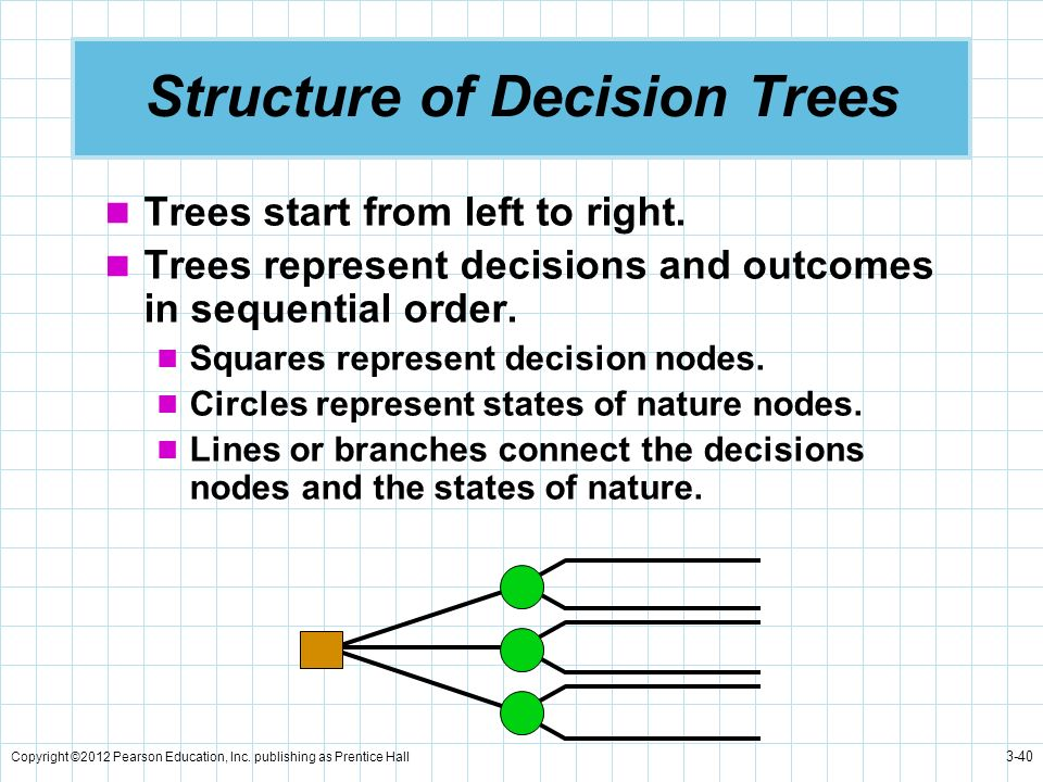 Structure of Decision Trees