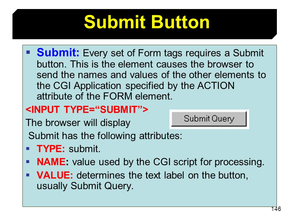 Submit Button