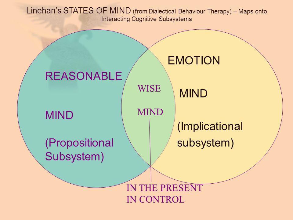 MIND REASONABLE (Implicational subsystem) MIND (Propositional