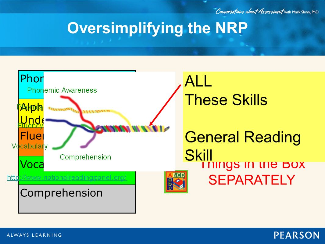 Oversimplifying the NRP
