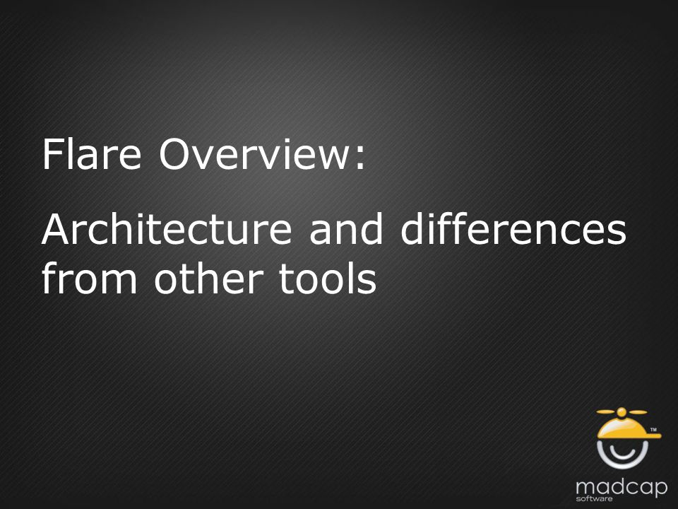 Flare Overview: Architecture and differences from other tools