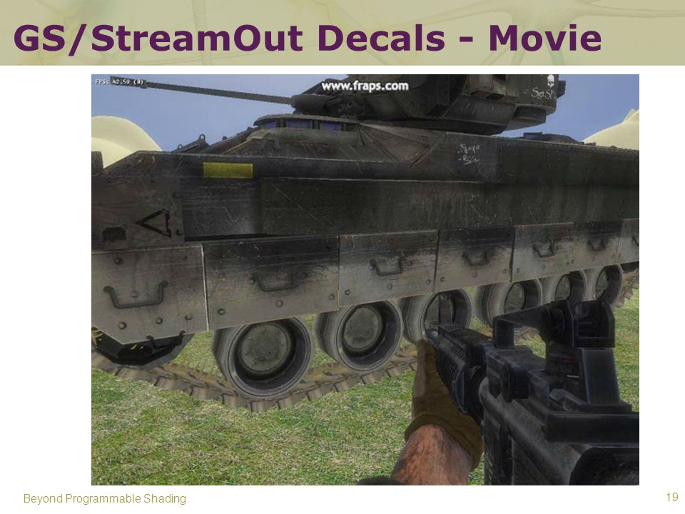 GS/StreamOut Decals - Movie