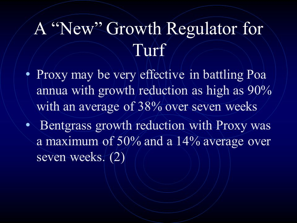 A New Growth Regulator for Turf
