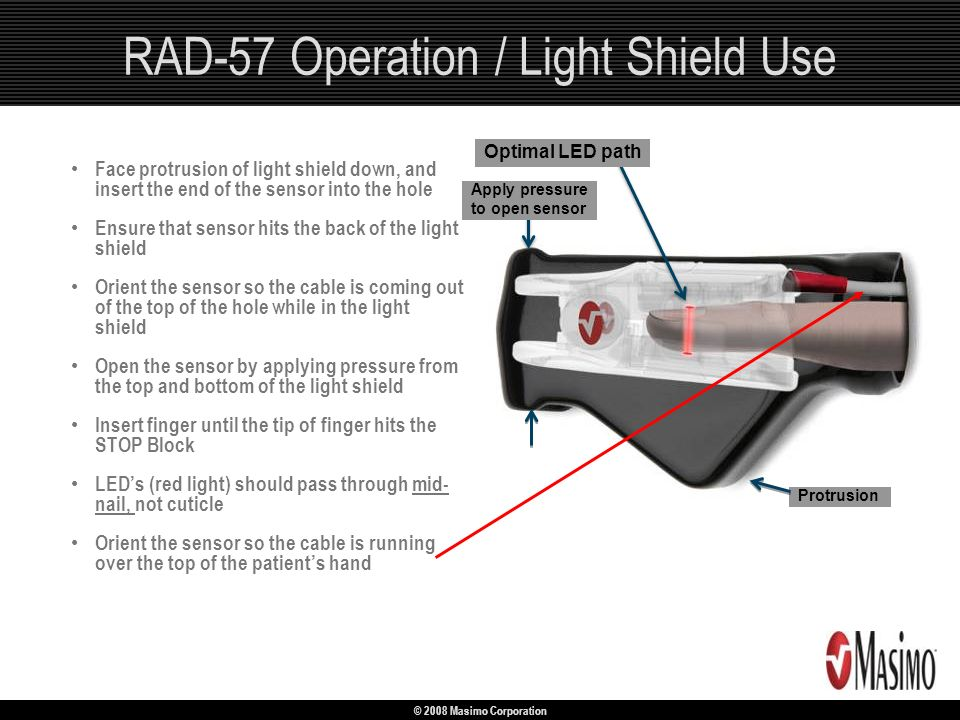 RAD-57 Operation / Light Shield Use