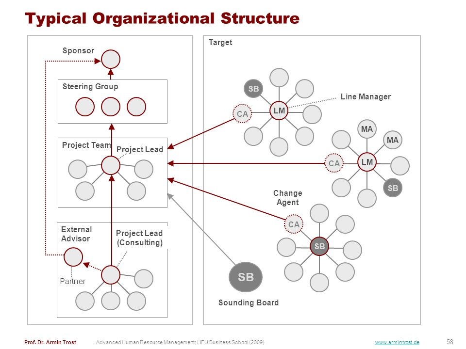 Typical Organizational Structure