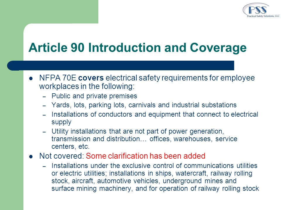 Article 90 Introduction and Coverage