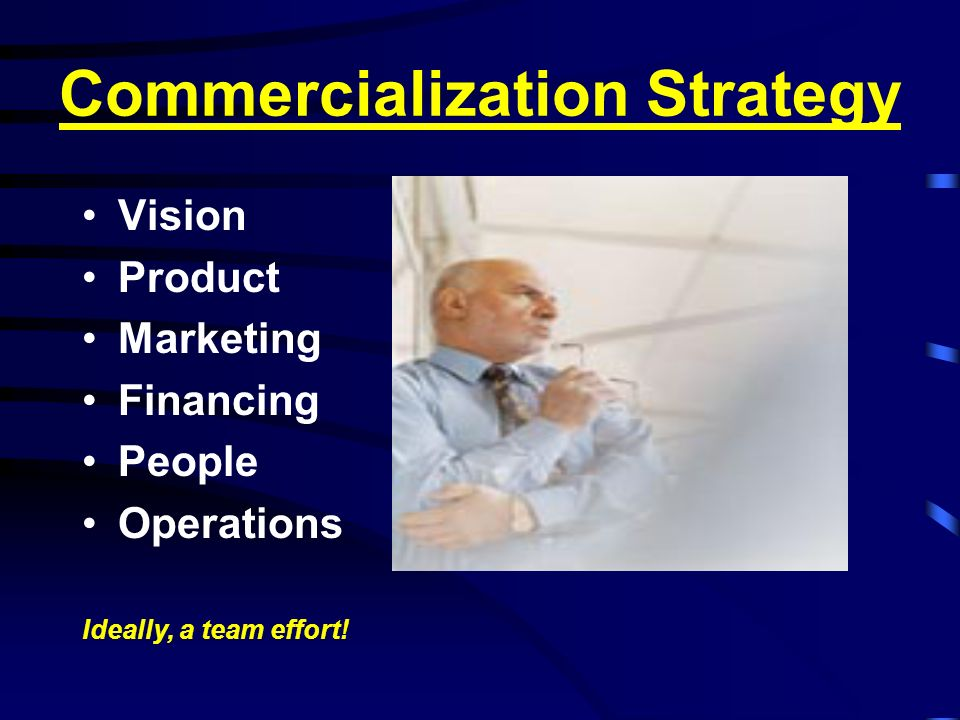 Commercialization Strategy