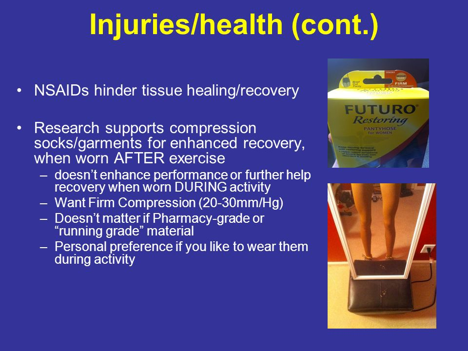 Injuries/health (cont.)