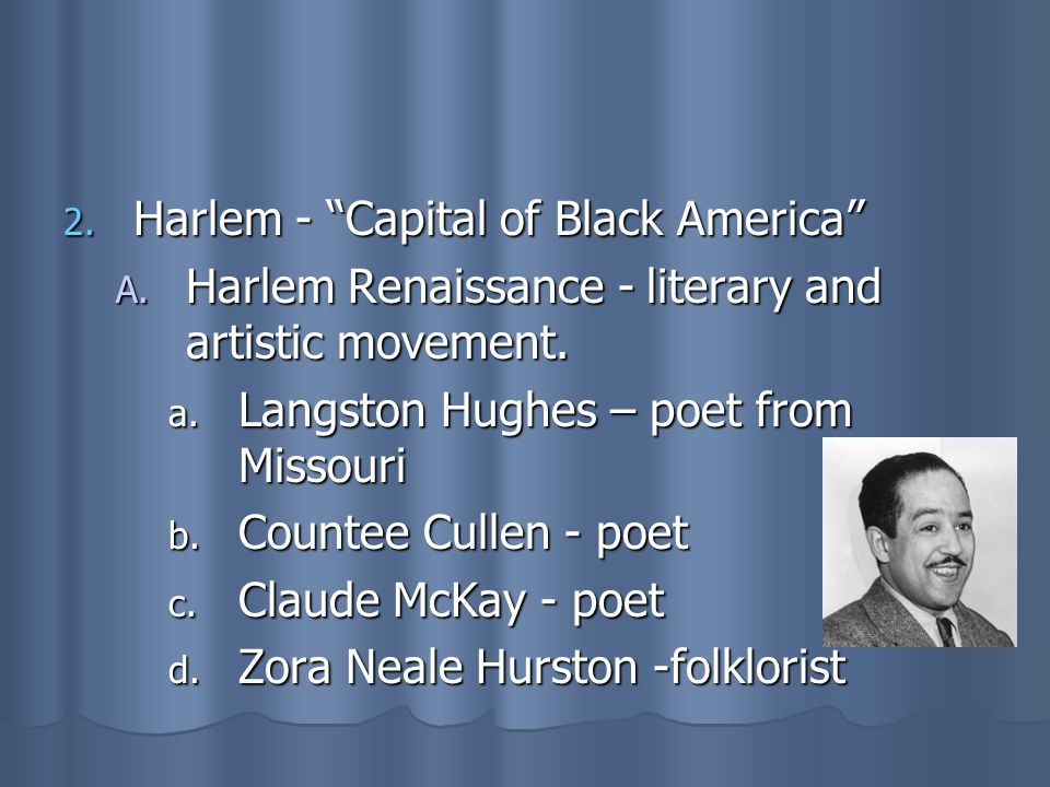 Harlem - Capital of Black America