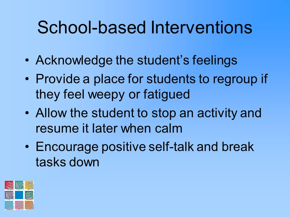 School-based Interventions