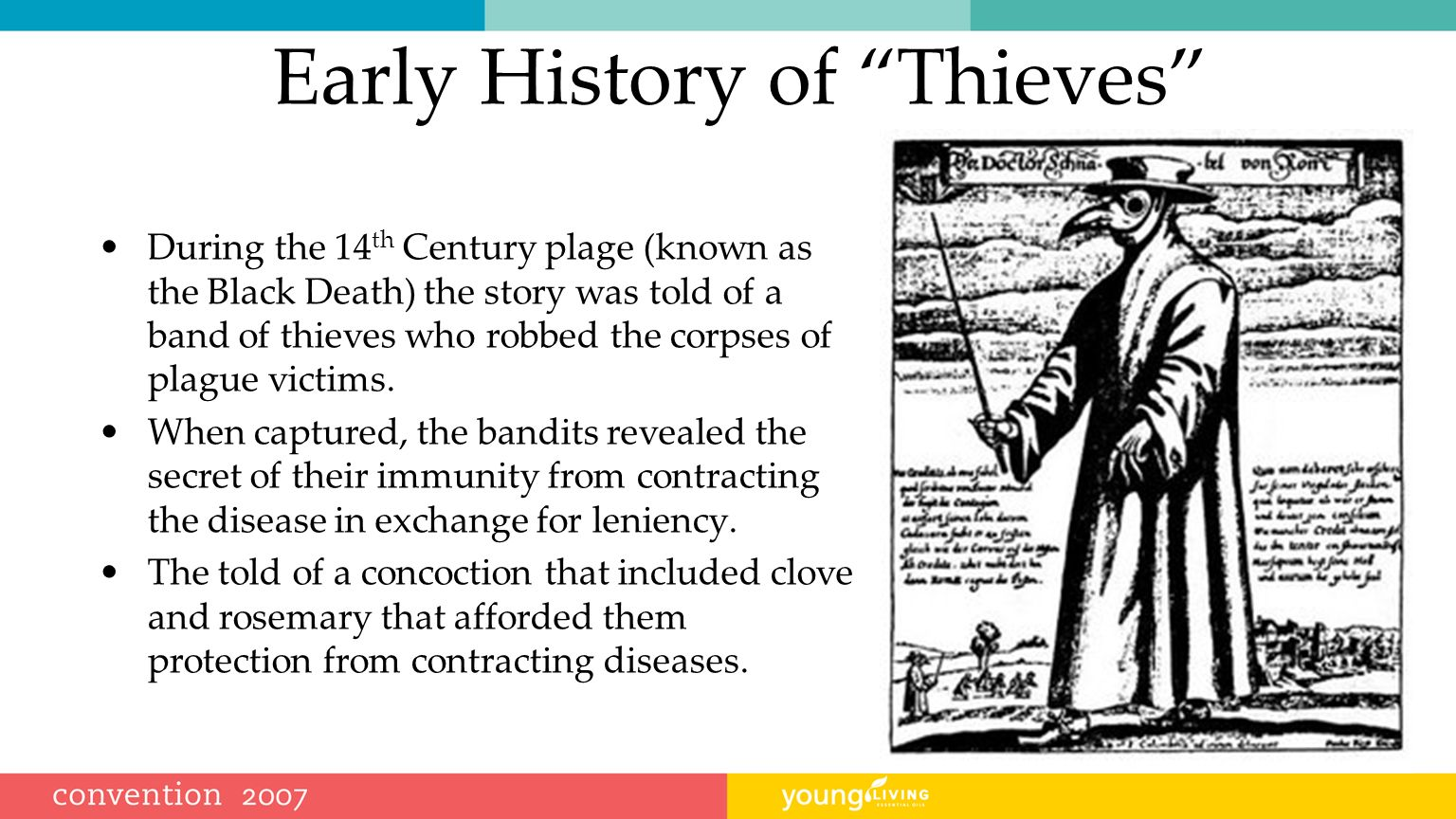 Early History of Thieves