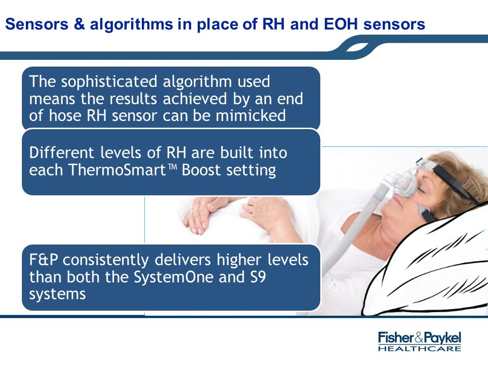 Sensors & algorithms in place of RH and EOH sensors
