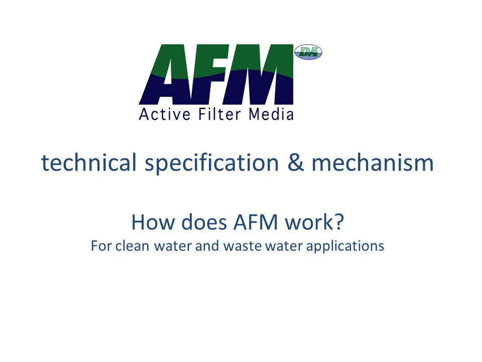 technical specification & mechanism How does AFM work