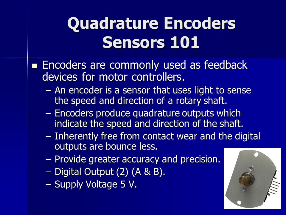 F I R S T Robotics Sensors ppt download