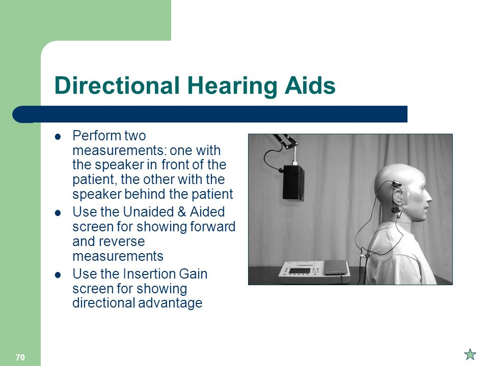 Directional Hearing Aids